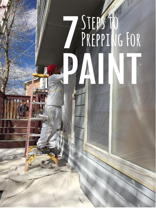7 Steps for Prepping Paint graphic