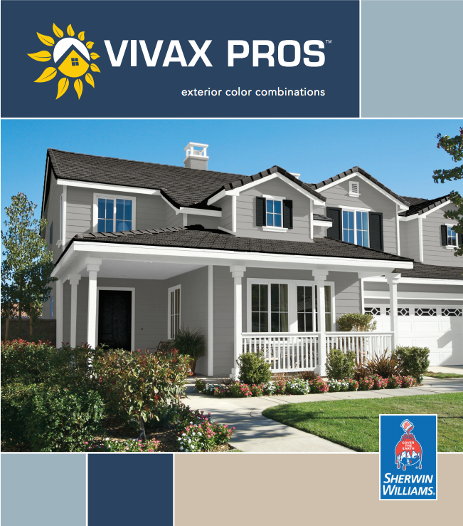 Vivax Pros Exterior Color Combinations