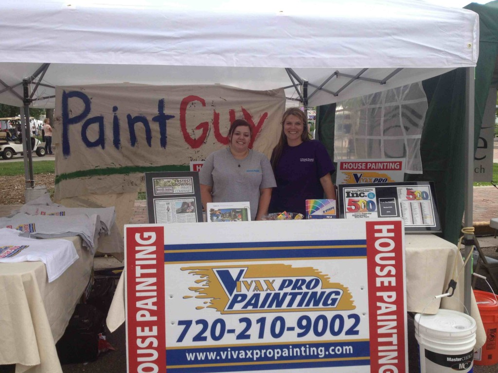 Hey Paint Guy booth