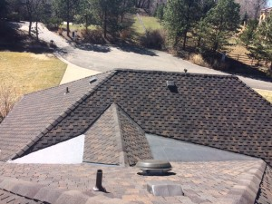 New asphalt roof in Denver, CO