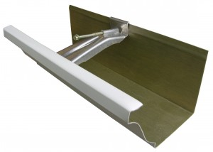 Piece of Gutter with Gutter Hanger for demostration