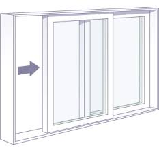 Sliding door diagram