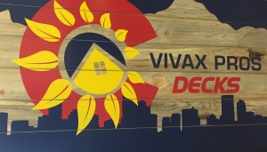 Vivax Pros Decks Wooden Sign