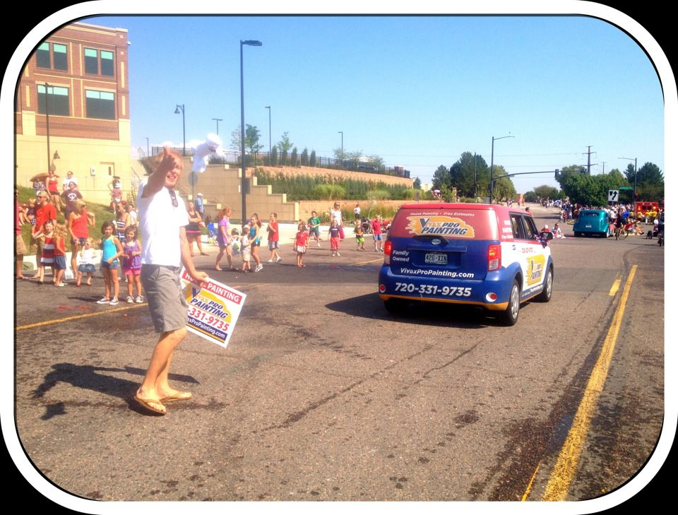 Vivax Pros vehicle in parade