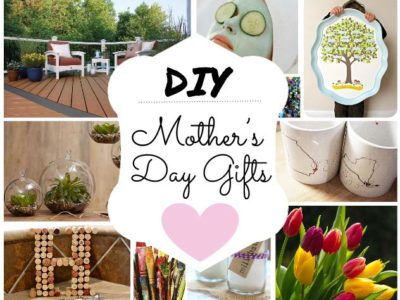 DIY Mothers Day Gifts graphic
