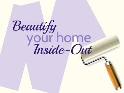 Beautify Your Home Inside-Out graphic