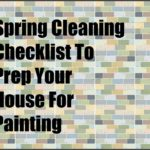Spring Cleaning Checklist to Prep Your House for Painting graphic