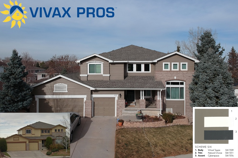 Exterior Paint Color Selection Paint Vivax Pros Gorgeous Aurora Exterior Painting Creative Property