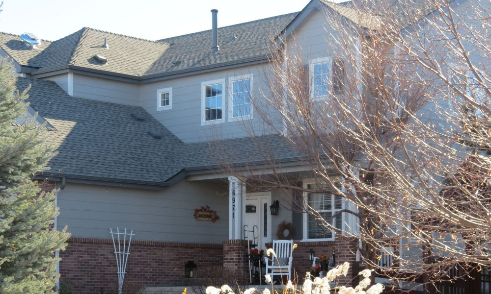 Grey House With New Roof Vivax Pros