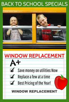 Window Replacement special flyer