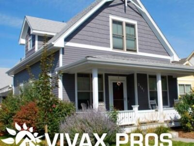 exterior home paint project